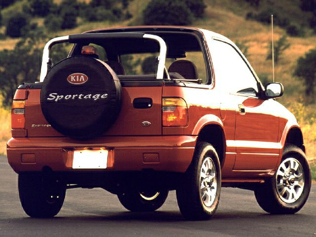 2000 Kia Sportage