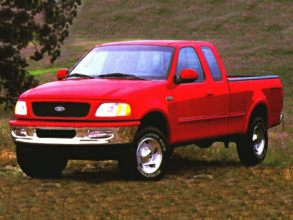 1997 ford f 150 4x4 extended cab flare side 139 in wb lariat specs web2carz. Black Bedroom Furniture Sets. Home Design Ideas