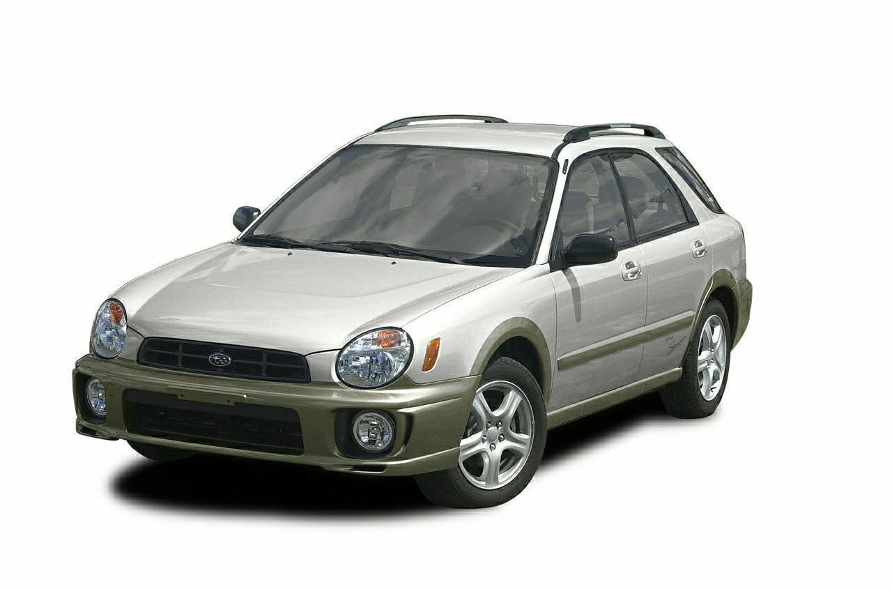 2002 Subaru Impreza Outback Sport