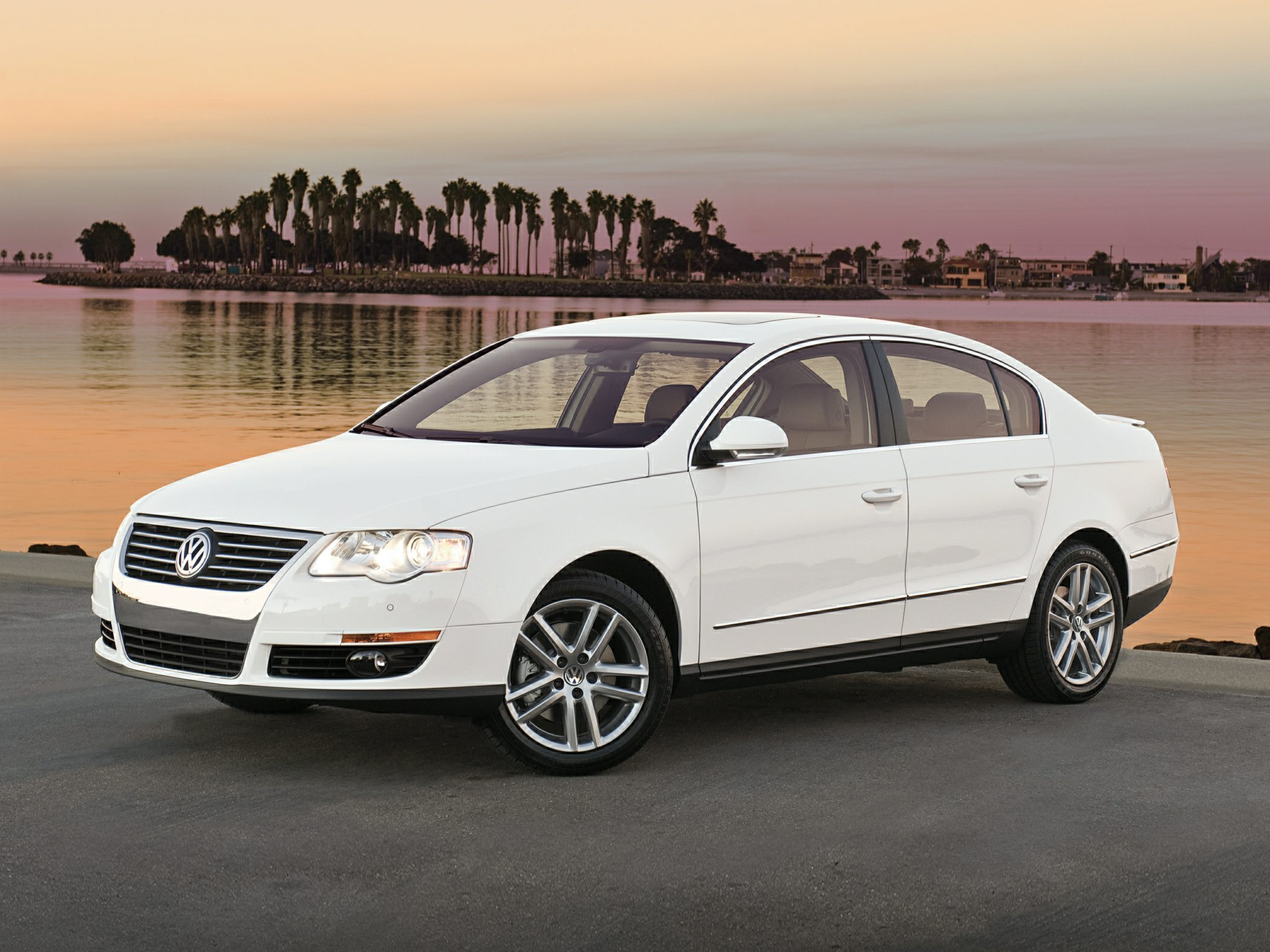 2010 Volkswagen Passat Komfort White Spotless One-Owner White Beauty Type your sentence here Yo