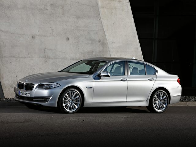 Pictured: 2013 BMW 528 4dr Rear-wheel Drive Sedan i