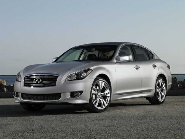 Pictured: 2013 Infiniti M37x 4dr All-wheel Drive Sedan Base