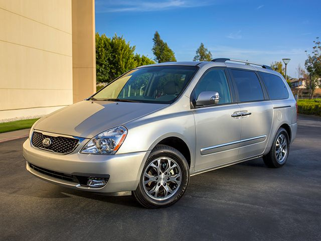 Pictured: 2014 Kia Sedona Passenger Van LX 