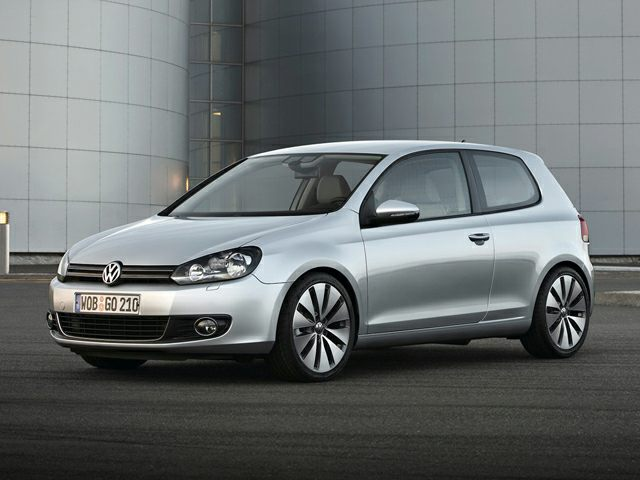 Pictured: 2013 Volkswagen Golf 2dr Front-wheel Drive Hatchback 2.5L 2-Door