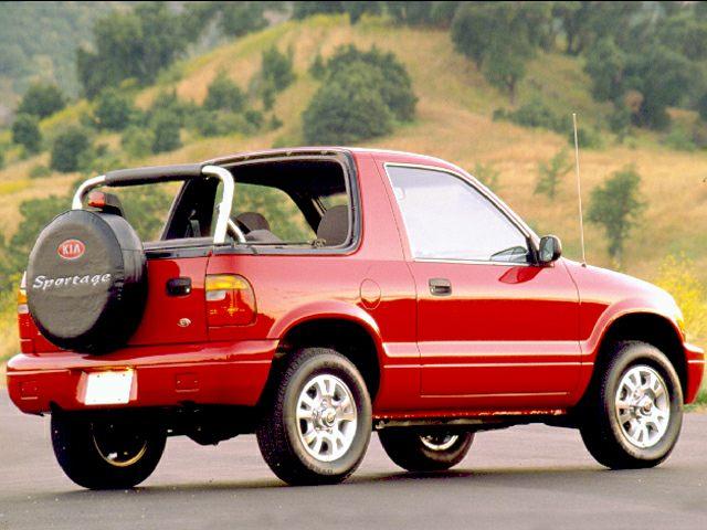 1999 Kia Sportage