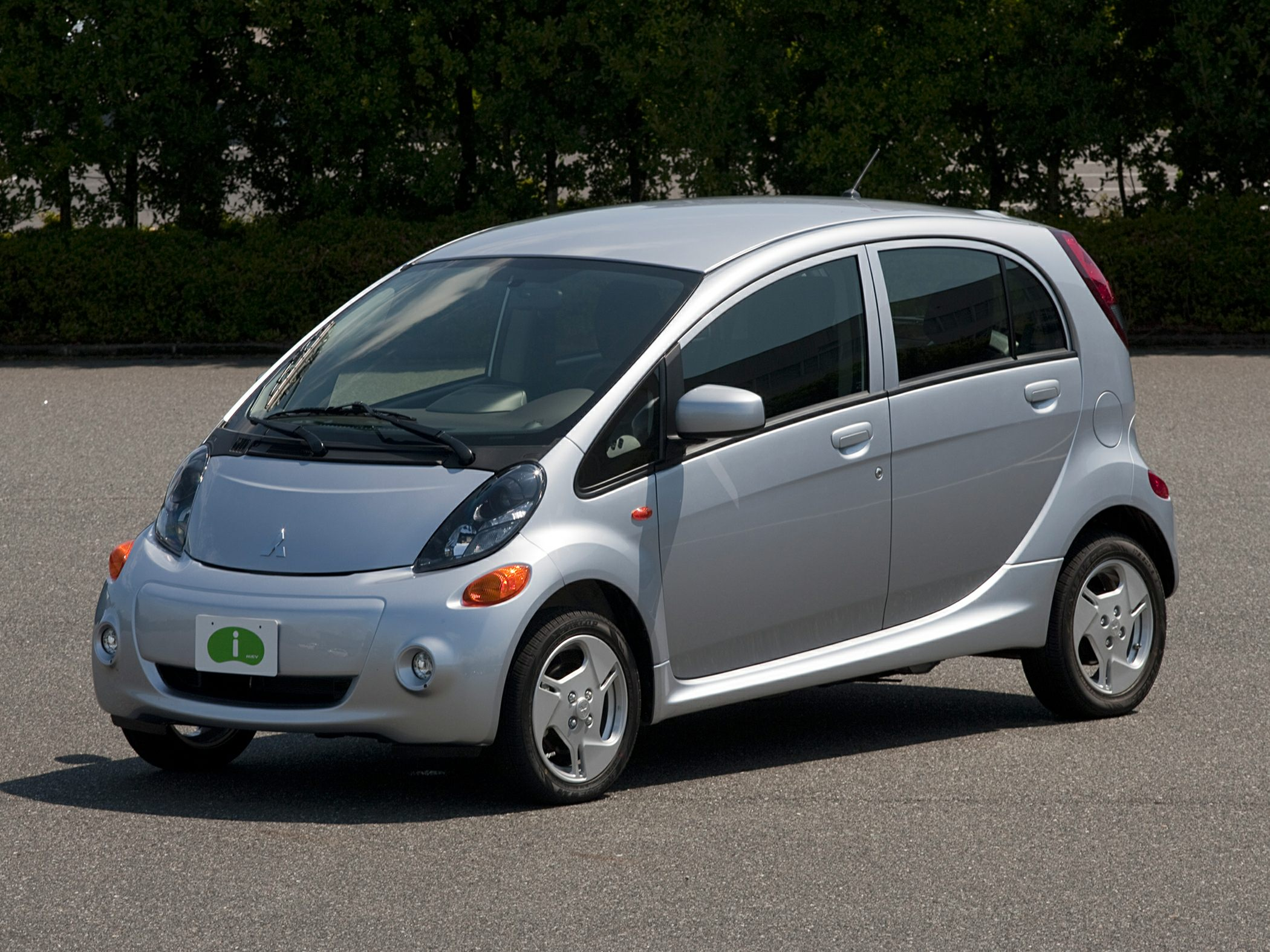2012 Mitsubishi i-MiEV Silver Front anti-roll barFront reading lightsFront wheel independent sus