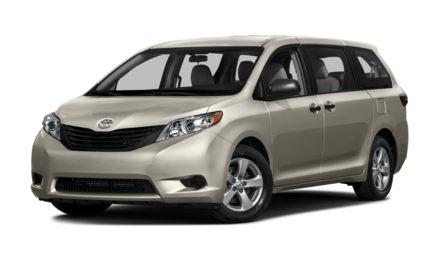 2017 Toyota Sienna 7 Passenger