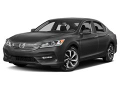 2017 Honda Accord Sedan EX-L V6 Auto