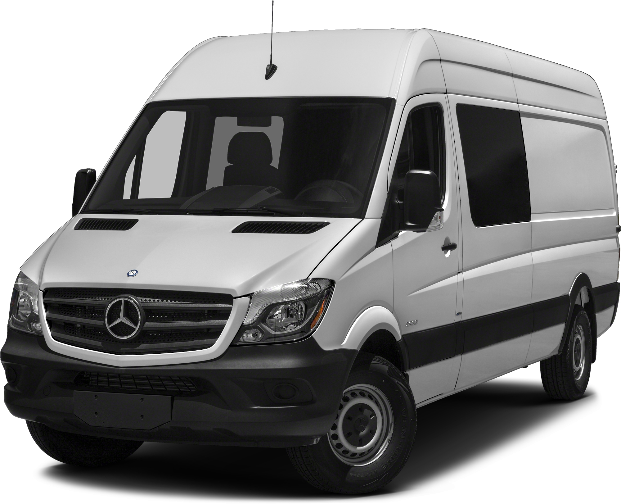 2016 mercedes benz sprinter 2500 crew 144 wb van white for Mercedes benz in white plains ny