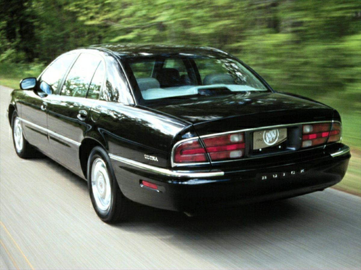 2000 Buick Park Avenue Ultra Gold 5545 Split Bench SeatLeather Seat TrimStripe Colour4-Wheel