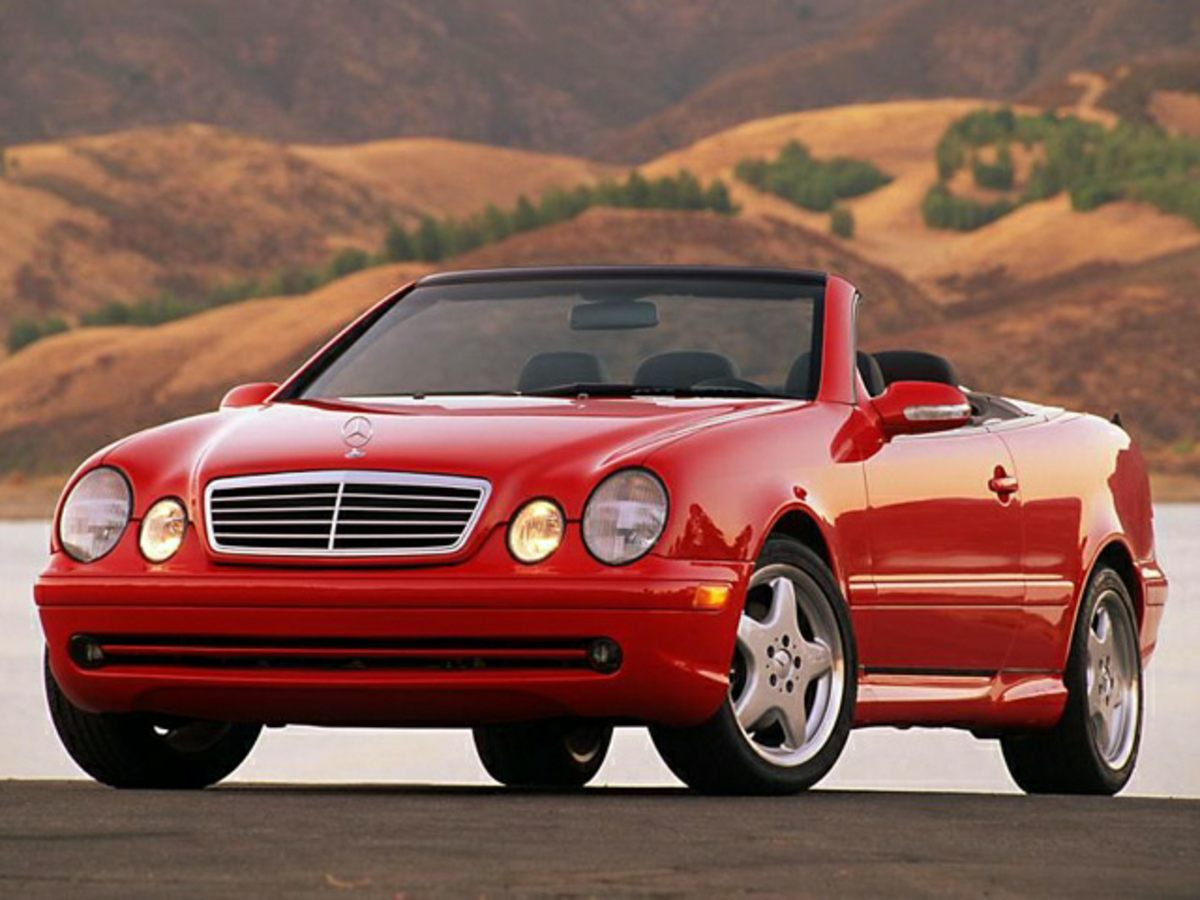2000 Mercedes-Benz CLK-Class CLK430 Red 2000 Mercedes-Benz Red CLK-Class Clean CARFAX 43L V8