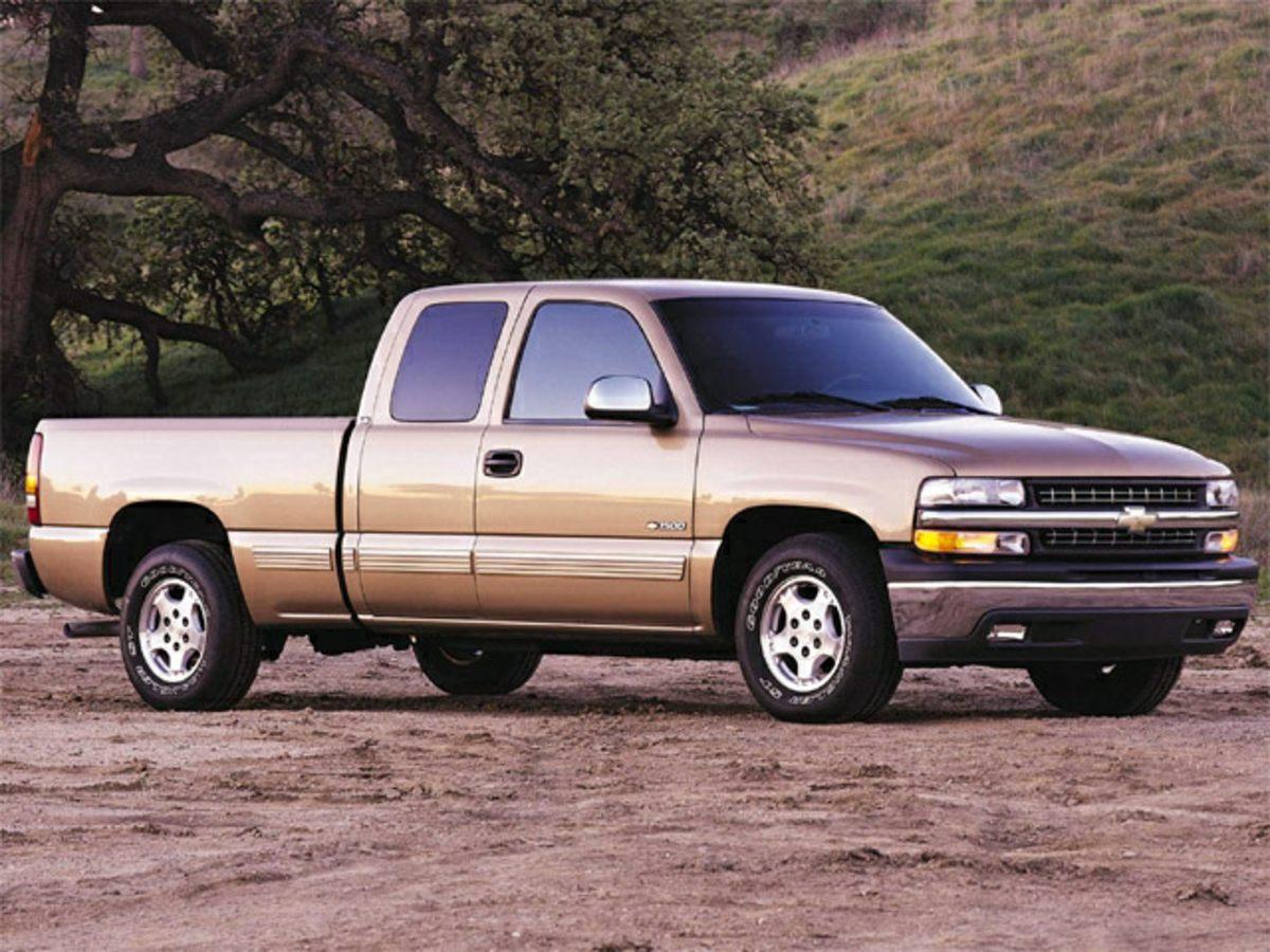 2001 Chevrolet Silverado 1500 Gray 342 Axle RatioFront 402040 Split Bench SeatFleetside Body