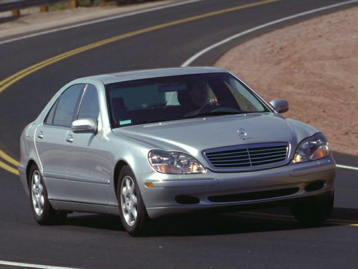 2001 Mercedes-Benz S-Class S500 Silver Leather Low Mileage Go ahead you deserve this one Do