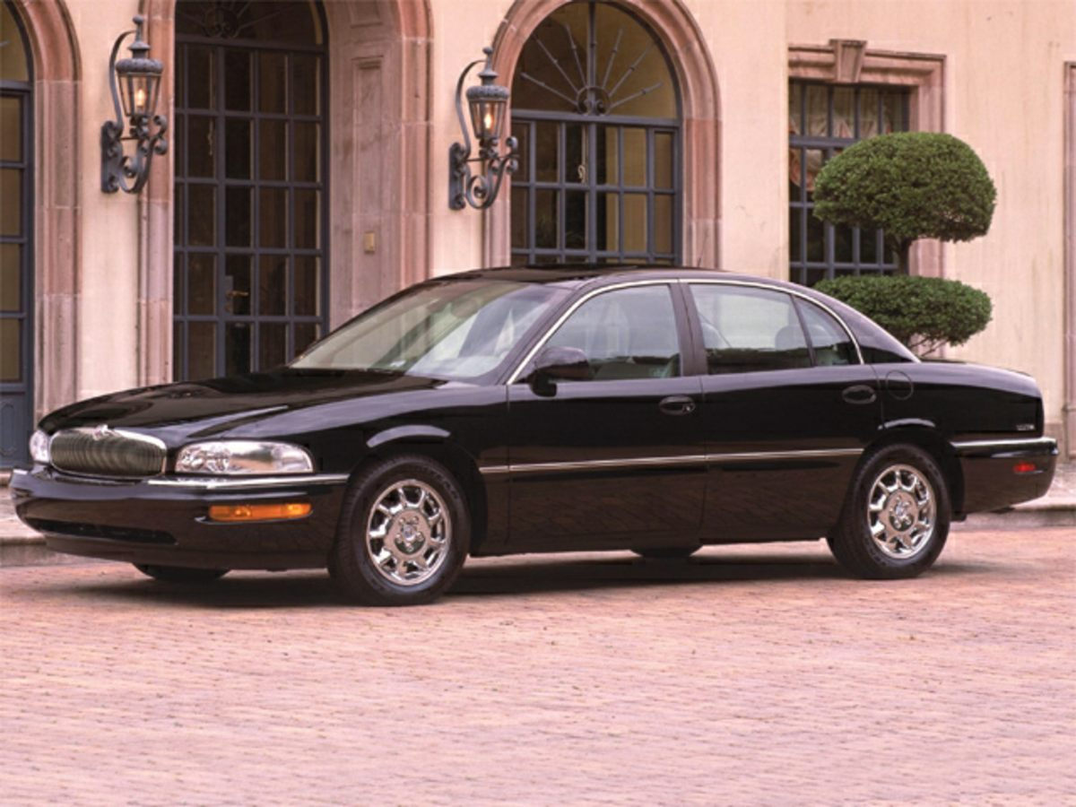 2002 Buick Park Avenue Base Green Green Machine Look Look Look Creampuff This charming 2002