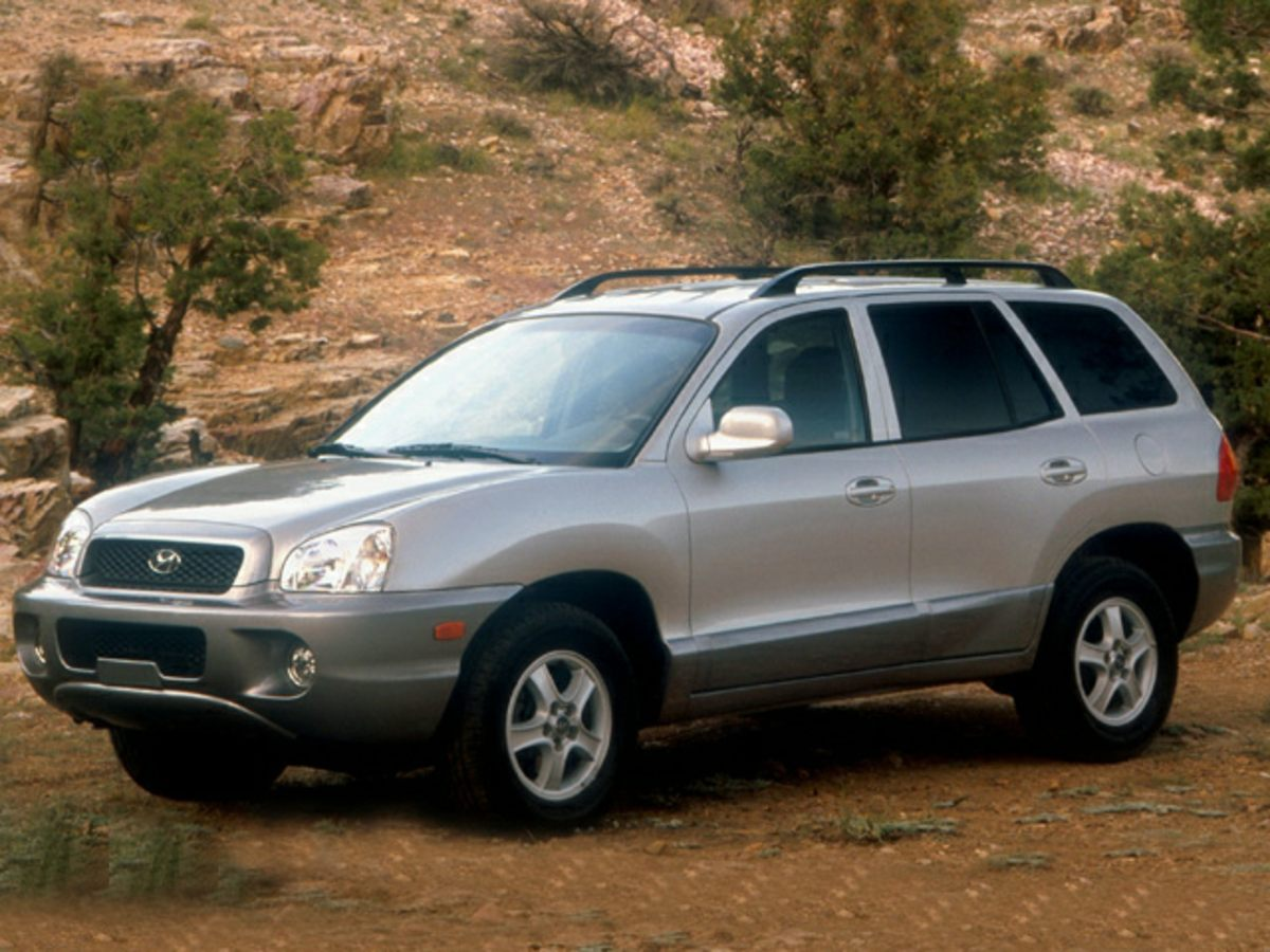 2002 Hyundai Santa Fe Come take a look at the deal we have on this wonderful 2002 Hyundai Santa Fe