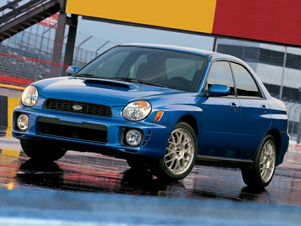 2002 Subaru Impreza WRX 16 x 65 JJ Aluminum Alloy WheelsFront Sport Bucket SeatsFlat Woven Cl