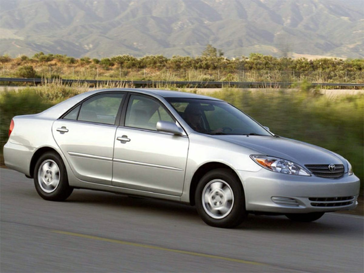 2002 Toyota Camry Silver Yes Yes Yes Silver Bullet Take your hand off the mouse because this