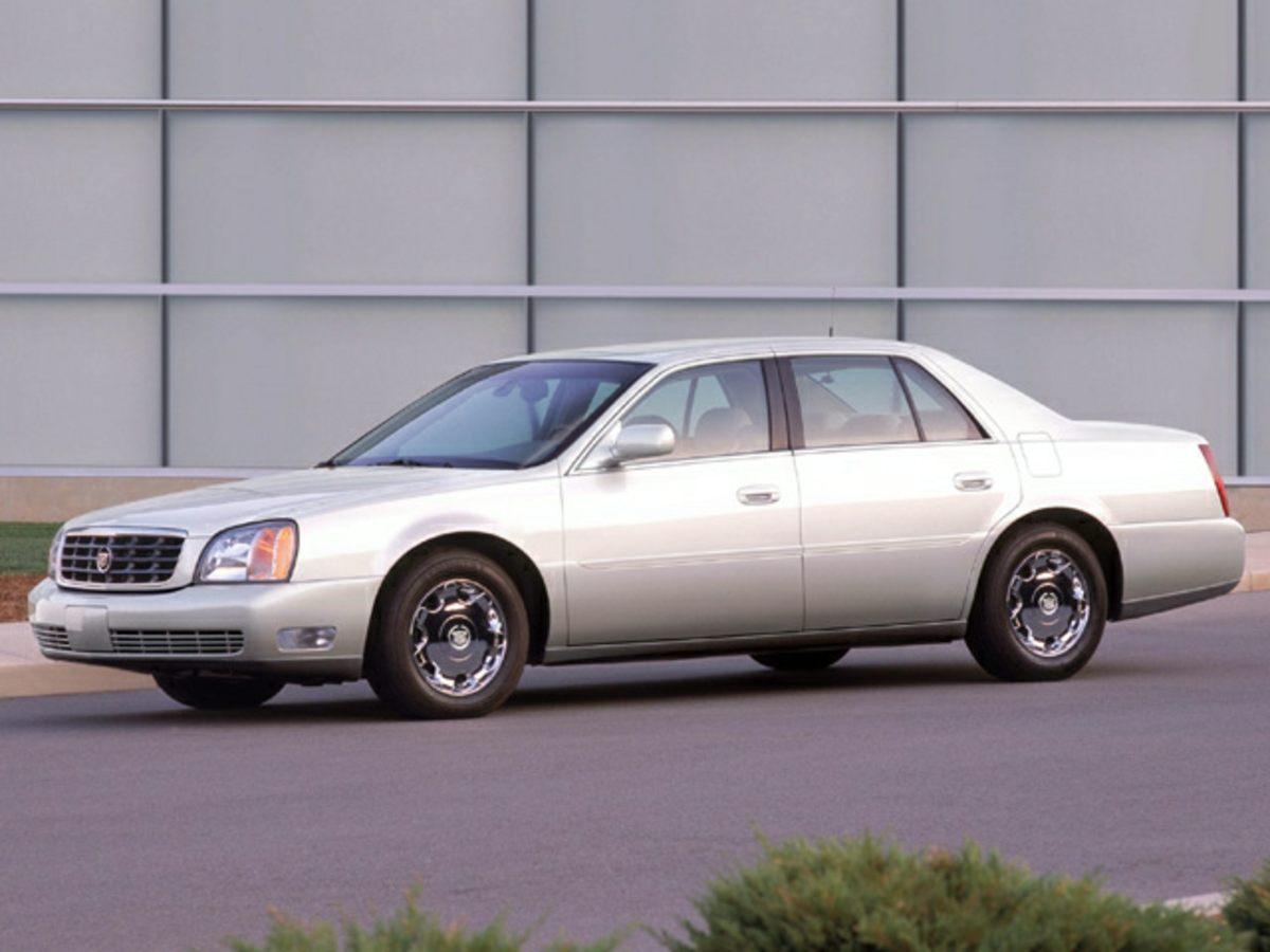 2004 Cadillac DeVille White 16 Aluminum Wheels402040 Front Split-Bench SeatNuance Leather Se