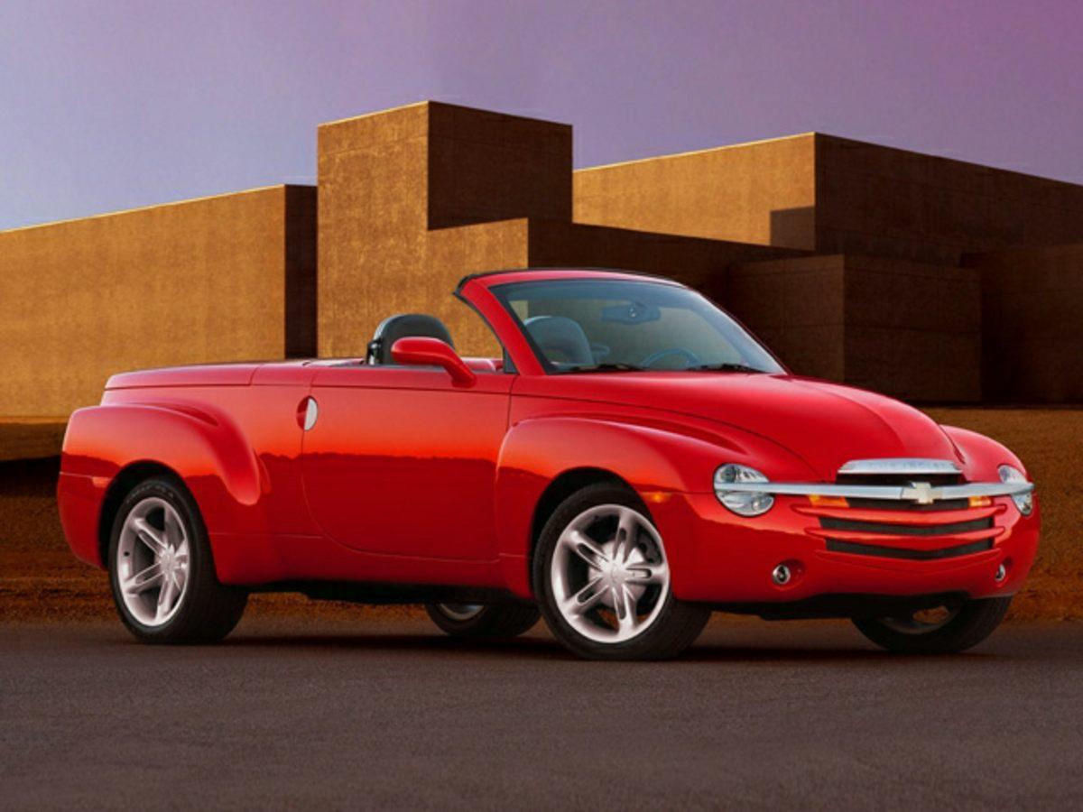 2003 Chevrolet SSR LS Yellow Sport Suspension PackageConvertible HardTop4 SpeakersAMFM radio