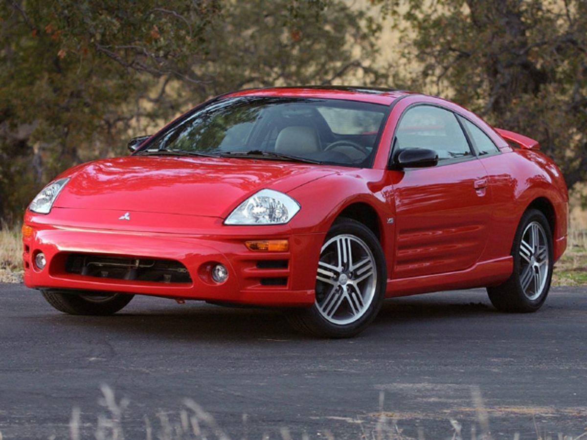 2003 Mitsubishi Eclipse GT White 17 5-Spoke Alloy WheelsSport SeatPremium Sport ClothLeather