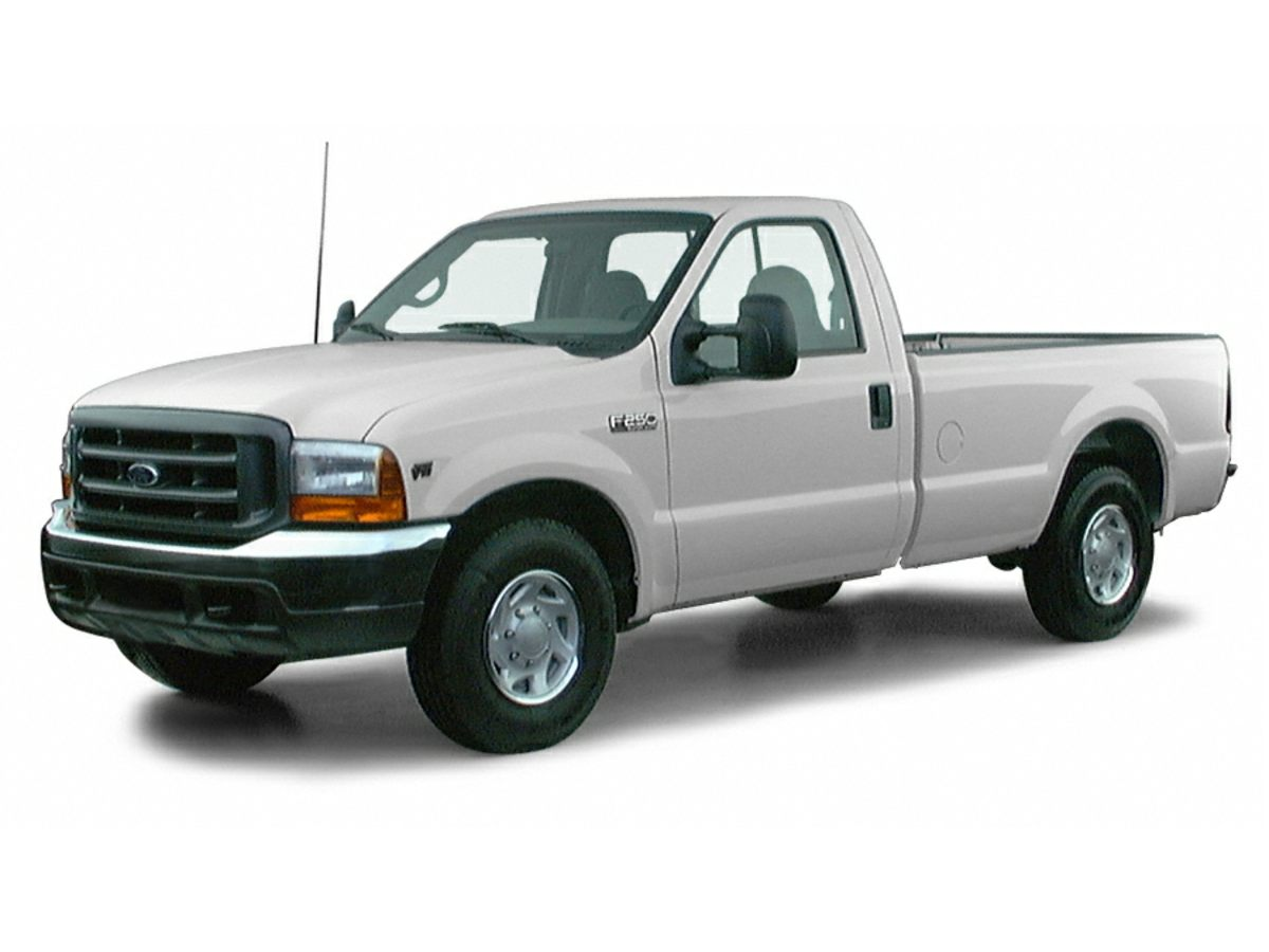 2000 Ford F-250SD XLT Red Payload Package  1Forged Deluxe Aluminum WheelsCloth 402040 Split