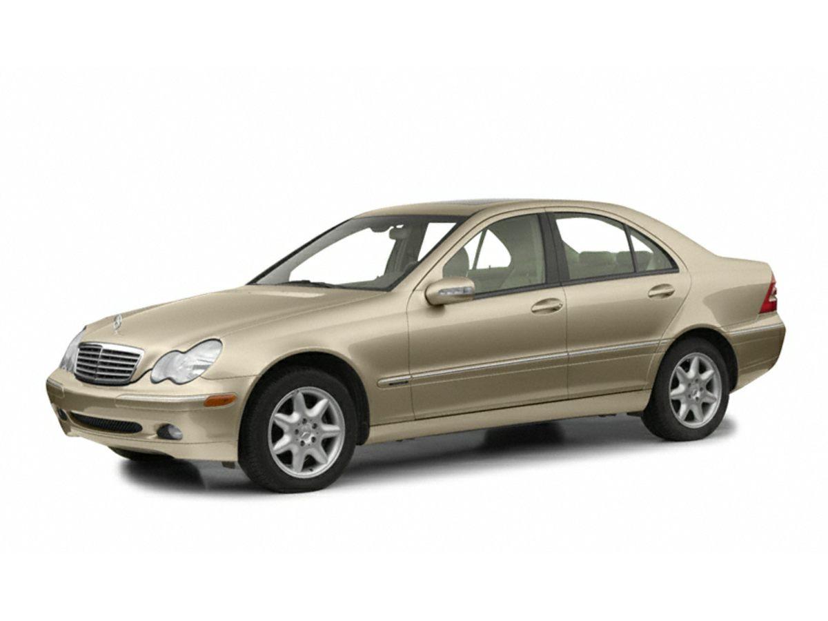 2001 Mercedes-Benz C-Class C320 Leather Seat Trim4-Wheel Disc BrakesAir ConditioningCassetteEl
