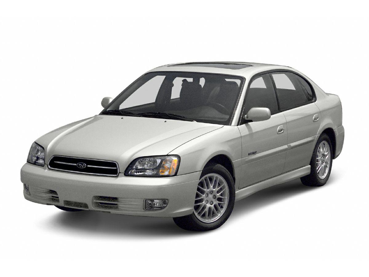 2002 Subaru Legacy L 15 x 6 JJ Steel Wheels wFull Wheel CoversMoquette Cloth Seat TrimAMFM S