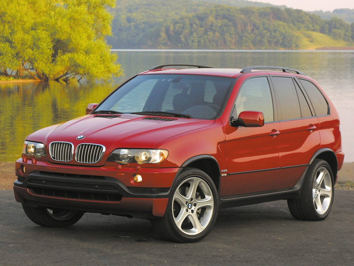 2003 BMW X5 44i AWD Yes Yes Yes Set down the mouse because this 2003 BMW X5 is the SUV youv