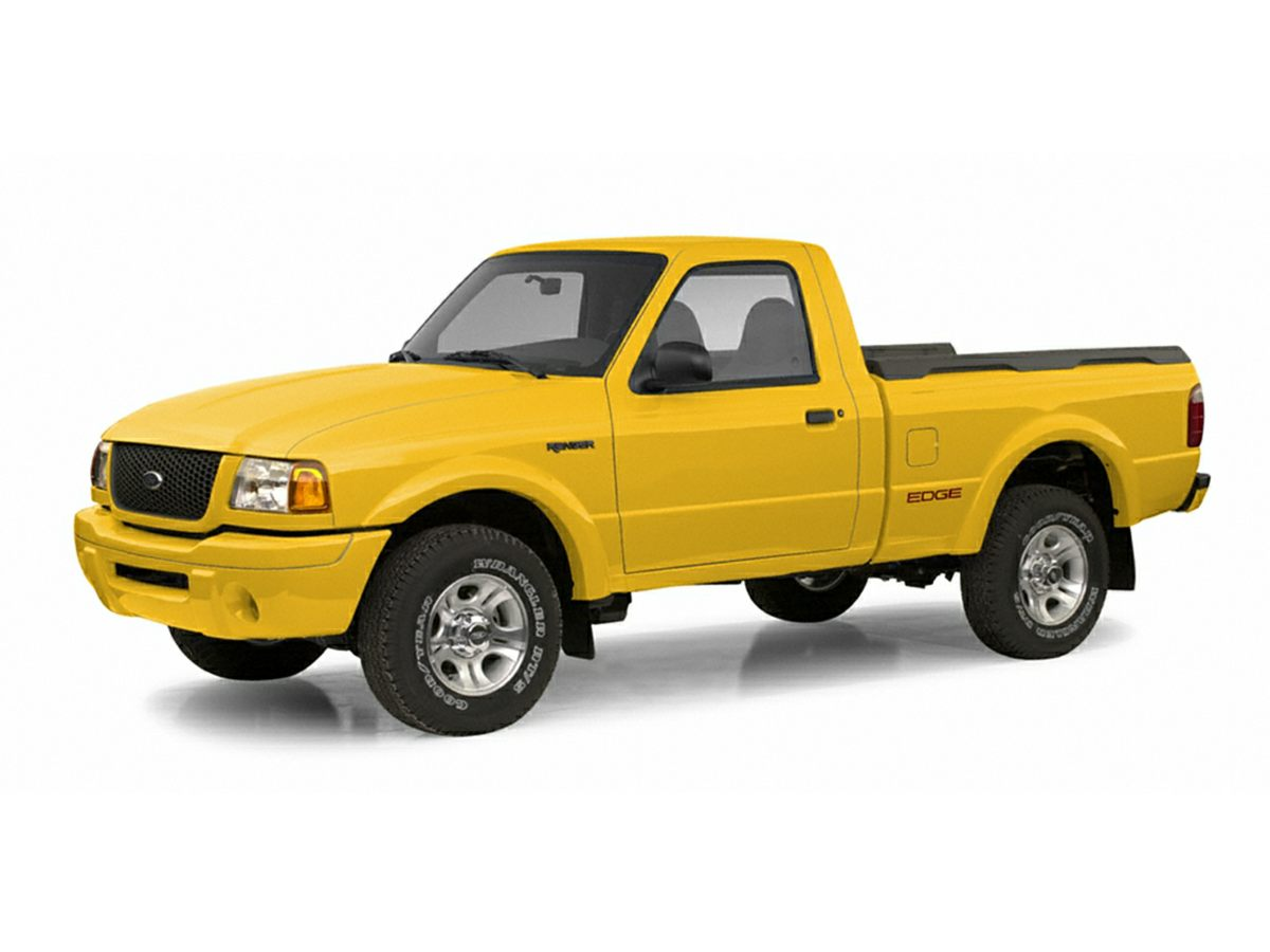 2003 Ford Ranger XLT Green Spray in bedliner 40L V6 and 4WD Agreeable riding characteristics