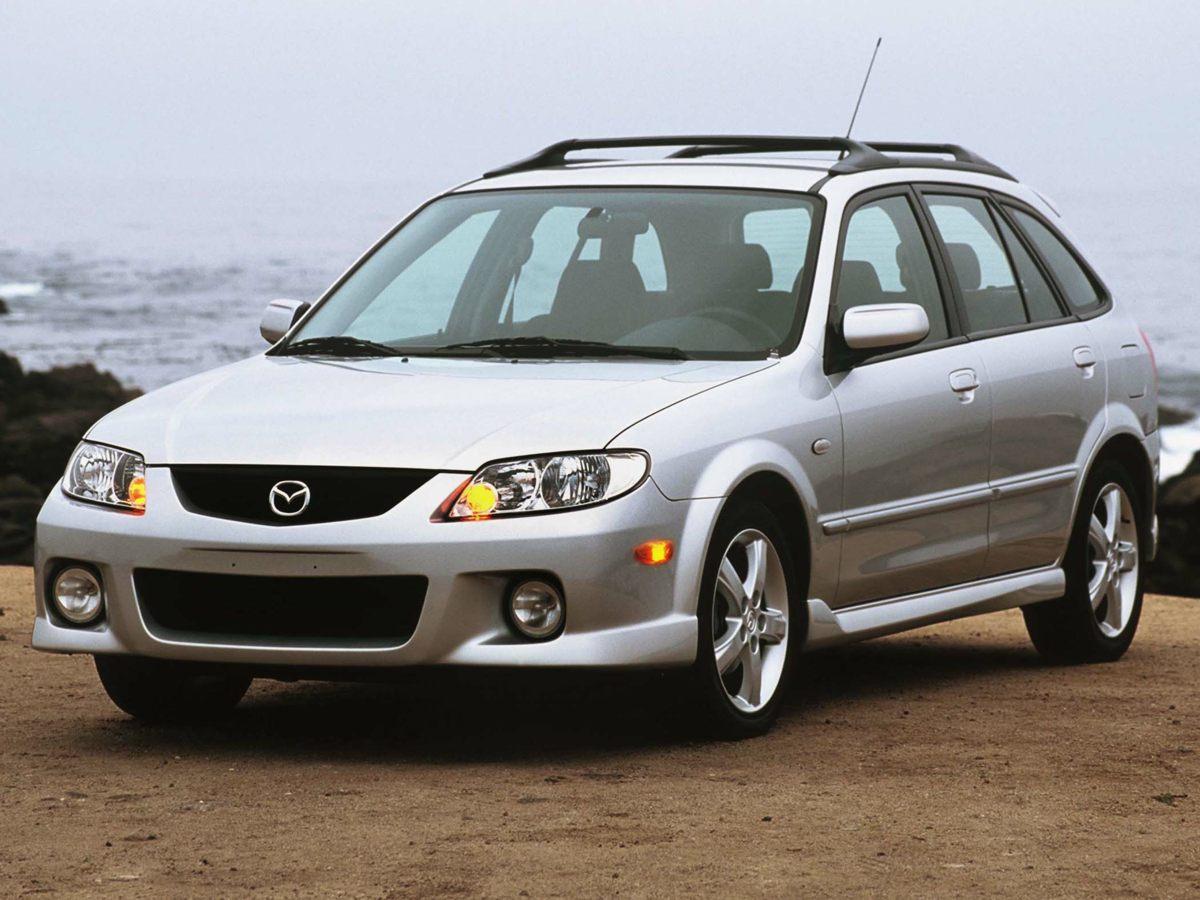 2003 Mazda Protege5 Base Blue 16 x 6 Silver Alloy WheelsReclining Front Bucket SeatsCloth Sea