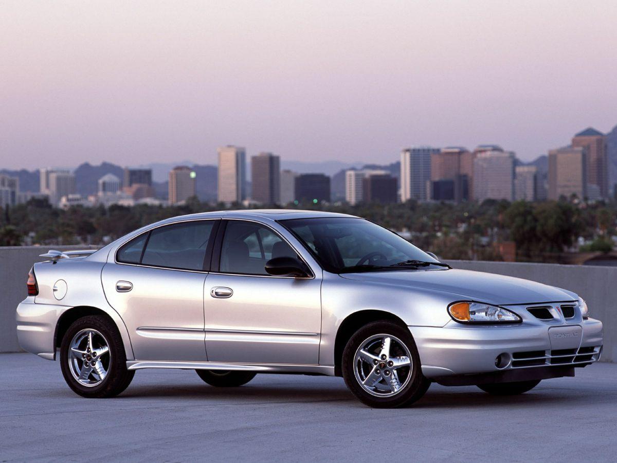 2003 Pontiac Grand Am SE1 Silver 15 Torqued Aluminum Wheels4545 Reclining Front Bucket SeatsW