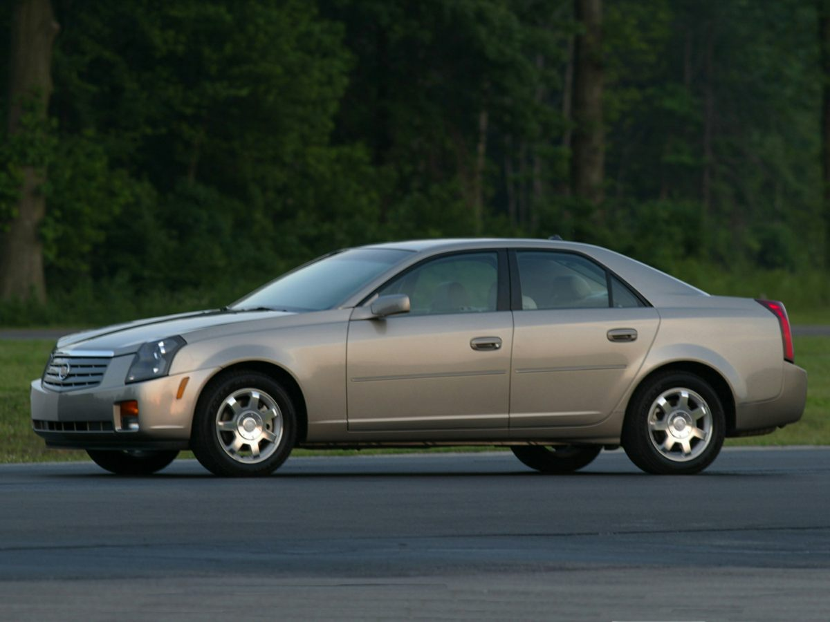2004 Cadillac CTS Base Silver 16 Painted Aluminum WheelsLeather Seating SurfacesETR AMFM Ster