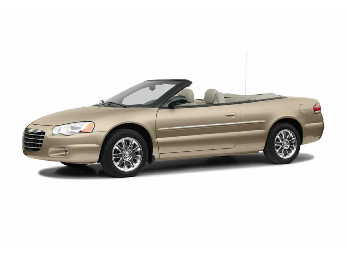 2004 Chrysler Sebring LXi Leather Trimmed Bucket SeatsAMFM Compact Disc wChanger Control4-Whee