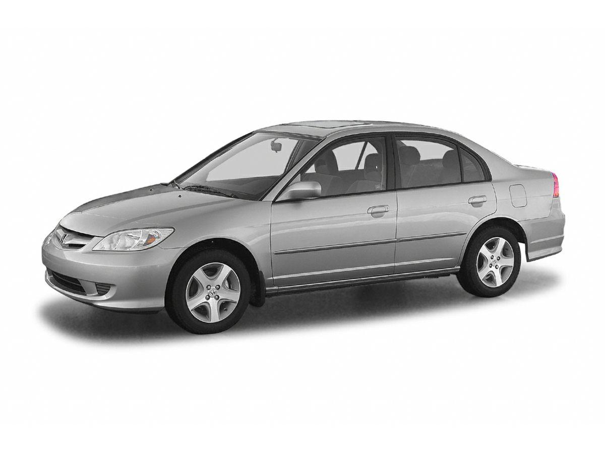 2004 Honda Civic LX 15 Wheels wFull CoversFront Bucket SeatsCloth Seat TrimAMFM Stereo wCD