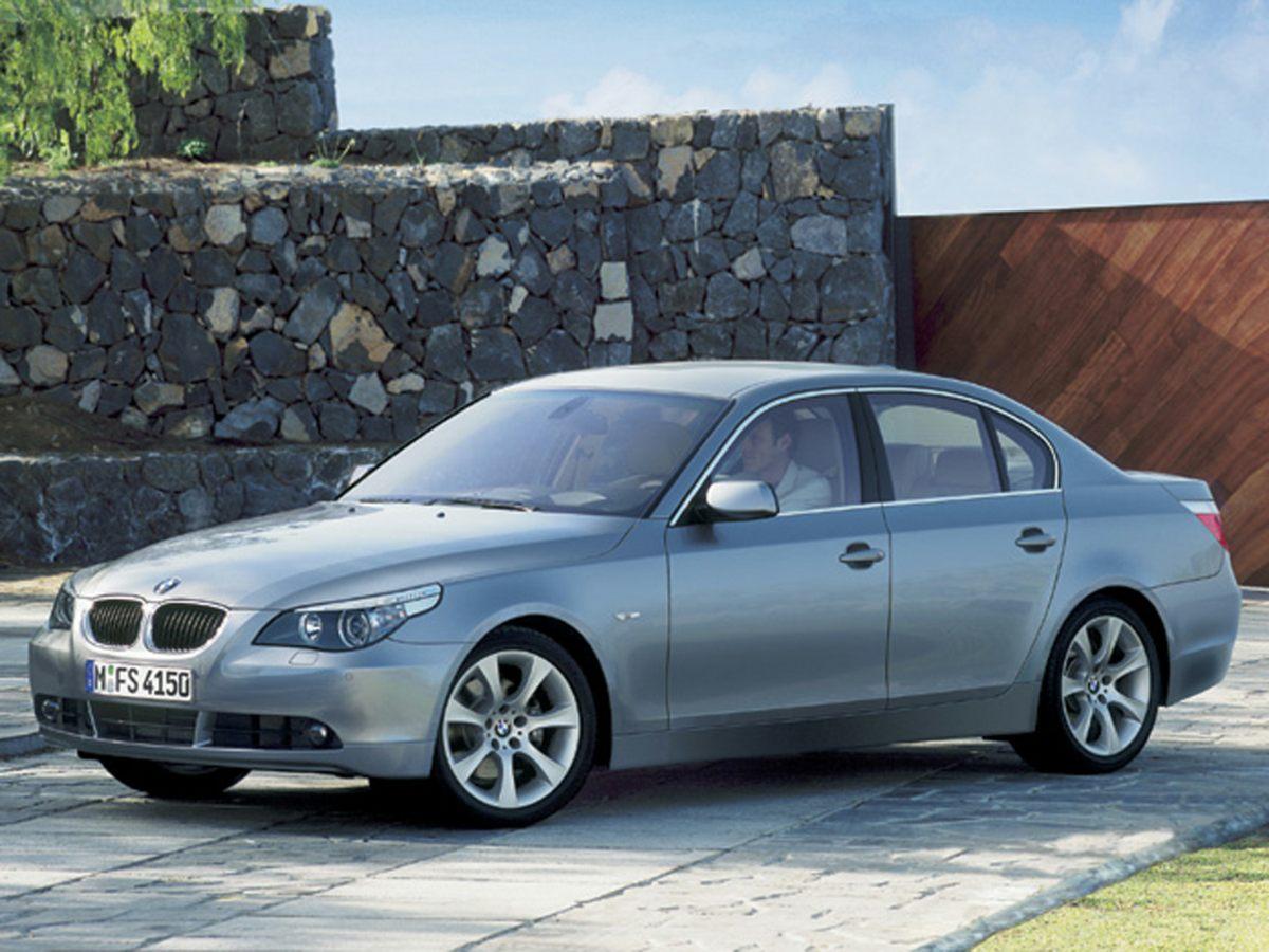 2005 BMW 5 Series 545i Blue 17 x 75 Double Spoke Cast Alloy Wheels10-Way Power Front Bucket S