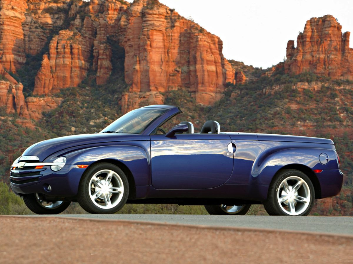 Used 2006 Chevrolet SSR BASE Ylw