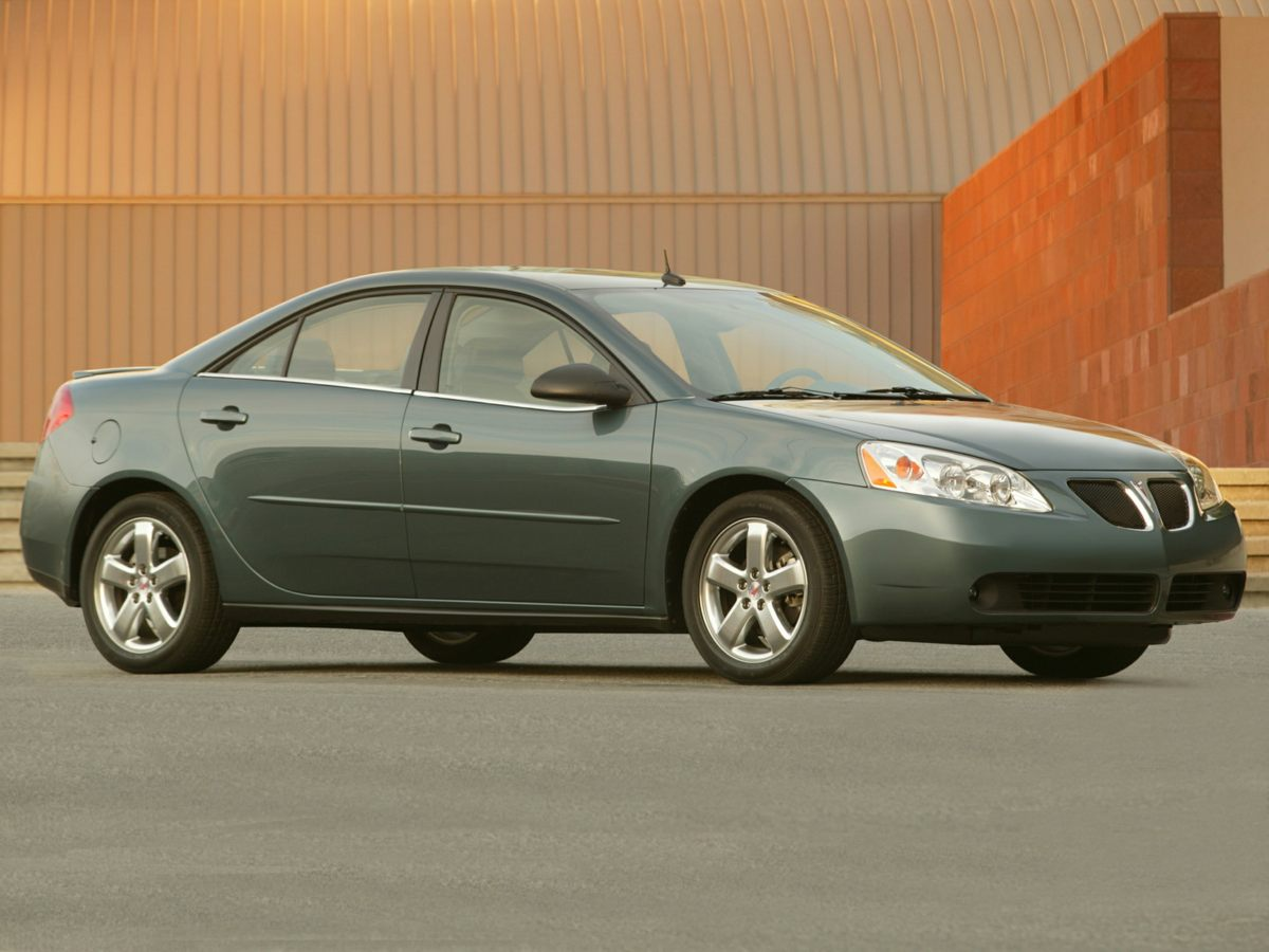 2005 Pontiac G6 Base Gray 16 Steel Wheels wBolt-On Wheel CoversFront Reclining 4545 Bucket Sea