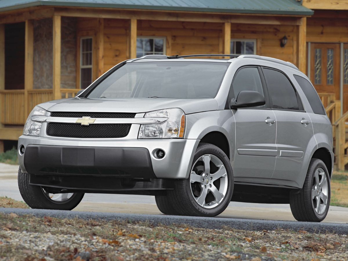 2006 Chevrolet Equinox LT Blue Look Look Look You Win Creampuff This handsome 2006 Chevrole