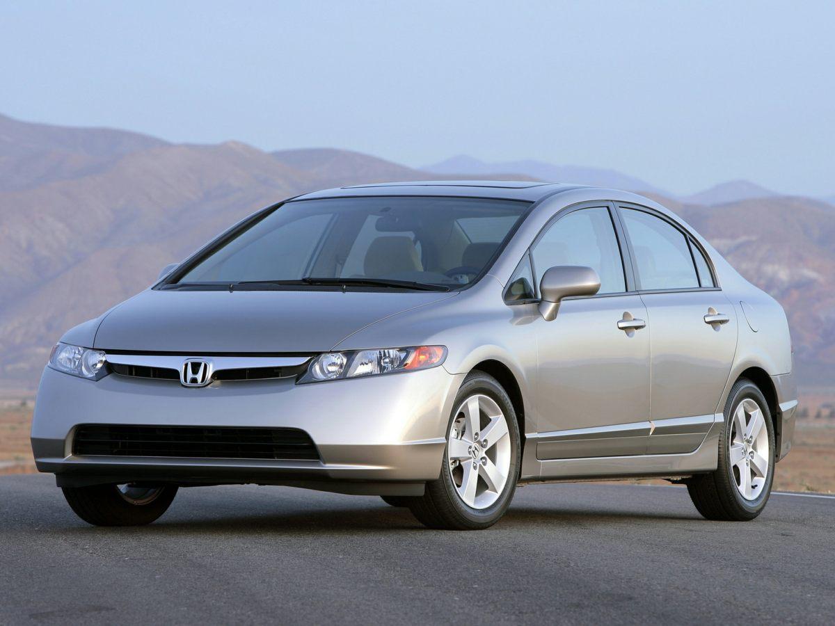 2006 Honda Civic LX 16 x 65J Wheels wFull CoversFront Bucket SeatsCloth Seat TrimAMFM CD A