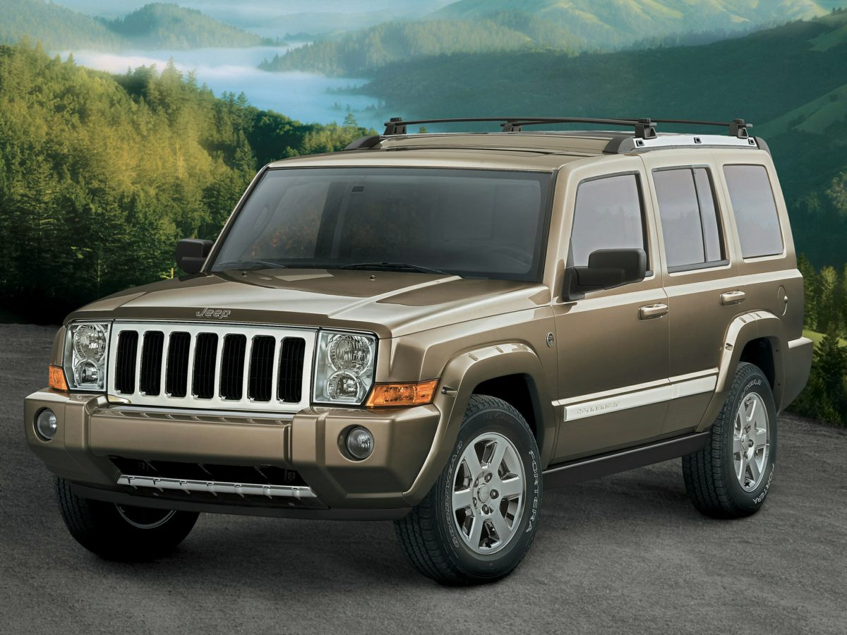 2006 Jeep Commander Limited Gold 373 Axle RatioLeather Trimmed Bucket SeatsNormal Duty Suspens