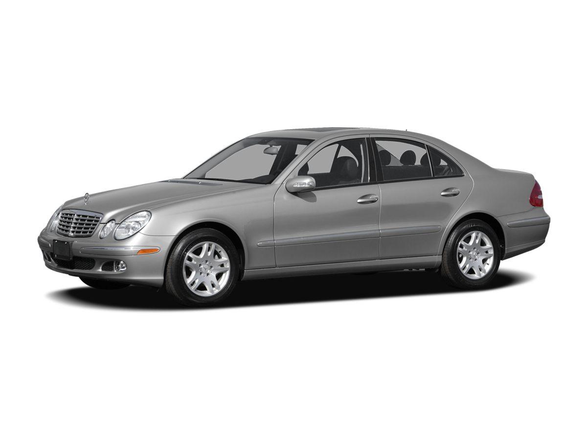 2006 Mercedes-Benz E-Class E 320 Black 16 x 80J Dual Spoke Alloy WheelsLeather Seating Inserts