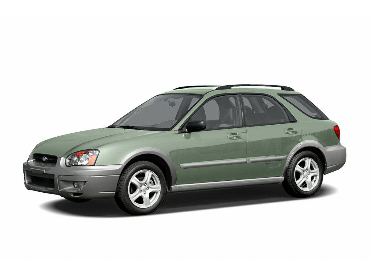 2006 Subaru Impreza Outback Sport 16 x 65 7-Spoke Aluminum Alloy WheelsSport-Design Front Seat