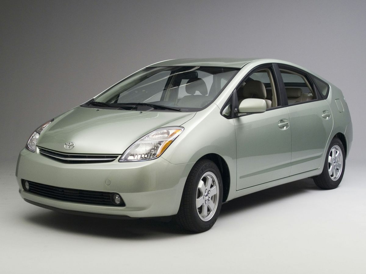 2006 Toyota Prius Base Front Bucket SeatsFabric Seat TrimAMFM CD w6 Speakers6 SpeakersAir Co
