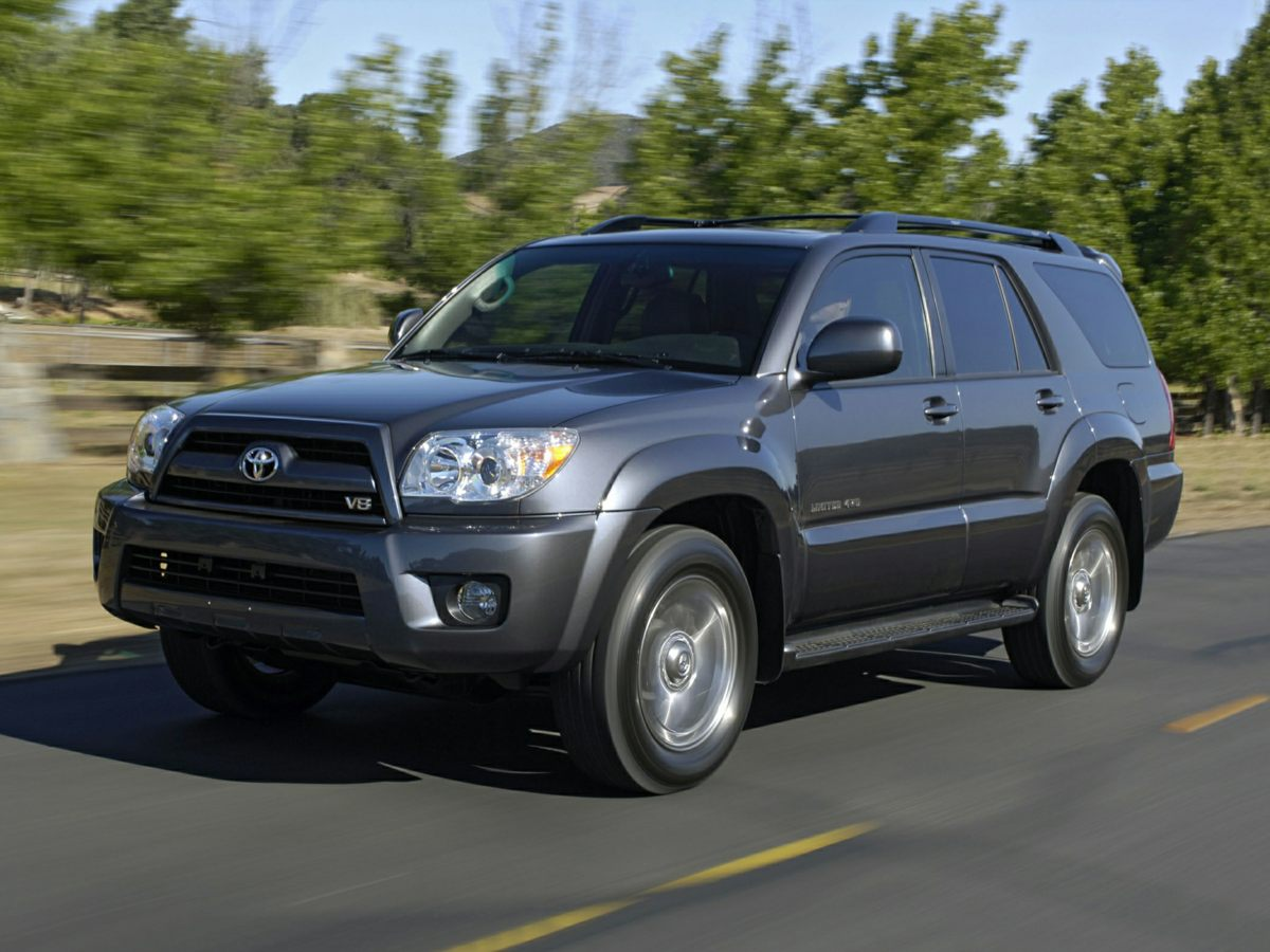 2006 Toyota 4Runner Limited 3909 Axle RatioLeather Power Heated Bucket SeatsAMFM CD-Changer w