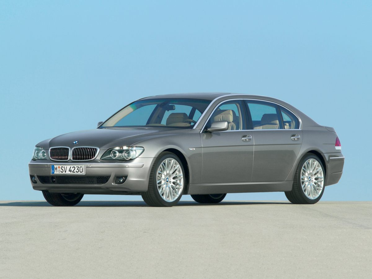2007 BMW 7 Series 750Li Blue CLEAN CAR FAX Black wNasca Leather Upholstery Joy Ride Adds exci