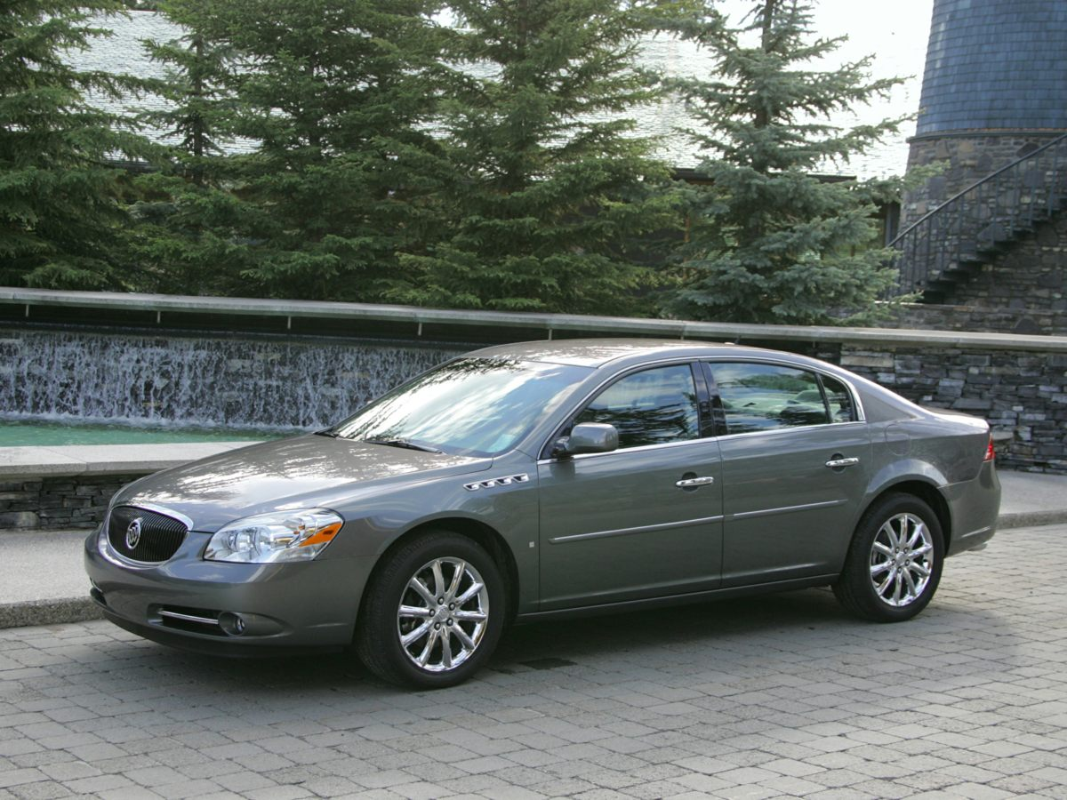 2007 Buick Lucerne CX You win Oh yeah Creampuff This handsome 2007 Buick Lucerne is not going