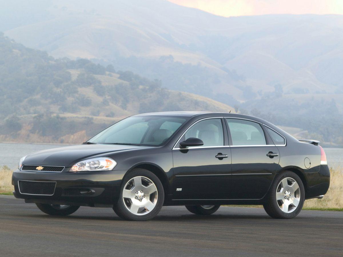 2007 Chevrolet Impala LT Cloth Seat TrimAMFM Stereo wCD PlayerSeek  Scan4-Wheel Disc Brakes