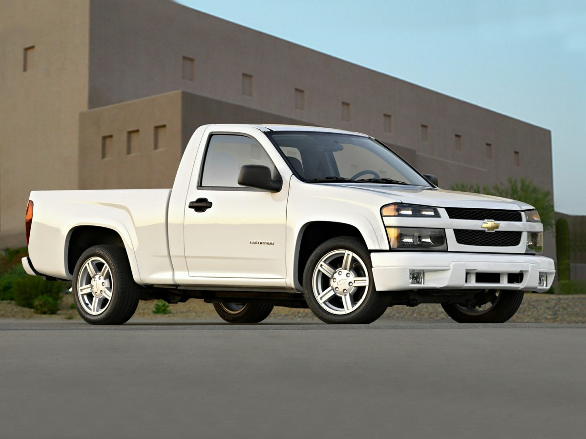 2007 Chevrolet Colorado White Clean Car Fax and 4WD 4 Wheel Drive 37L 5-Cylinder MPI DOHC and 4W