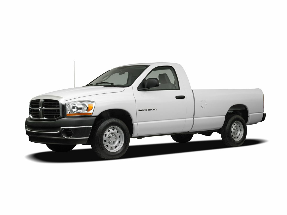 2007 Dodge Ram 1500 ST White 321 Axle Ratio17 x 7 Argent Steel WheelsHeavy Duty Vinyl 40204