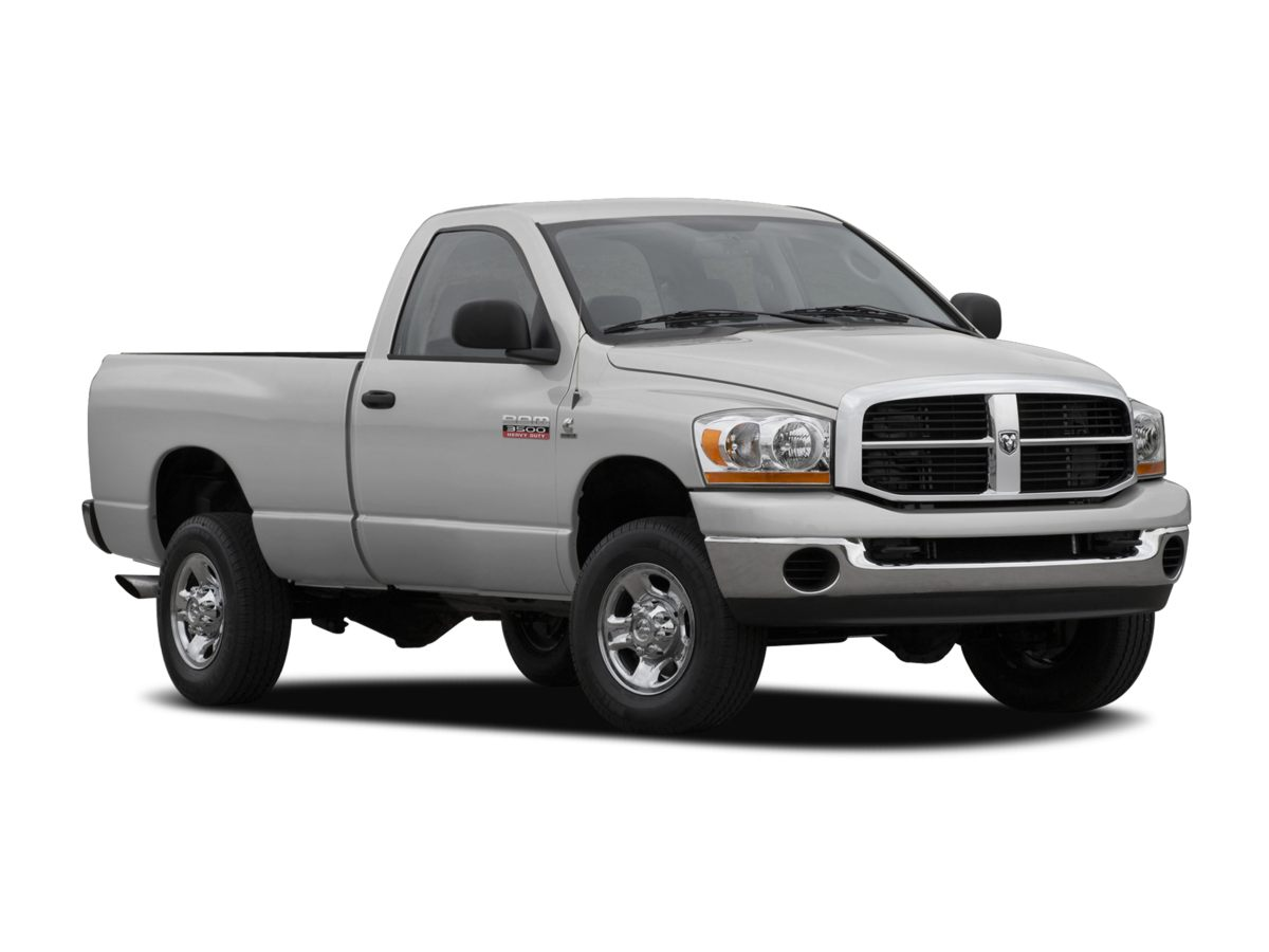 2007 Dodge Ram 3500 White Diesel Oh yeah Confused about which vehicle to buy Well look no fur
